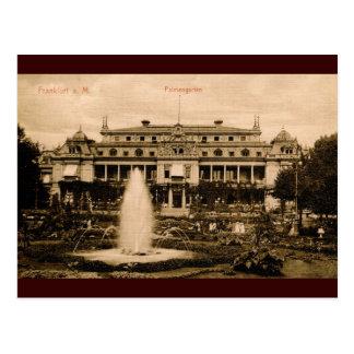 Palmengarten, Frankfurt, Germany Vintage Postcard