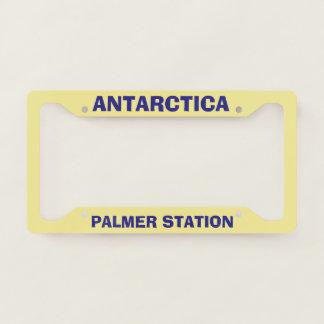 Palmer Station License Plate Frame