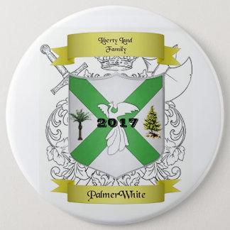 Palmer/White Family Crest Button
