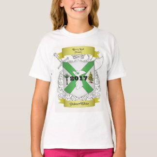 Palmer/White Family Crest Youth T-shirt