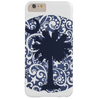 Palmetto Tree and Moon Navy Phone Case Design