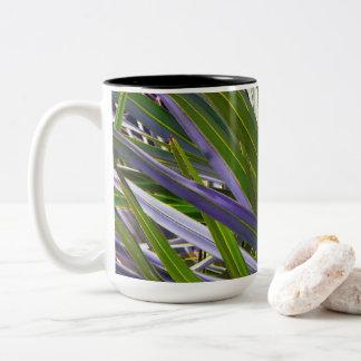 Palmetto Tropicale Two-Tone Coffee Mug