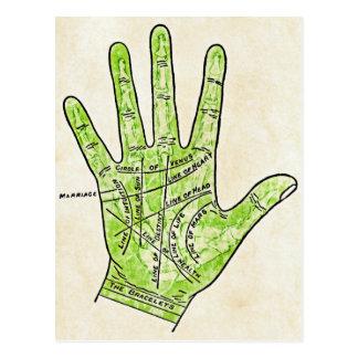 Palmistry Postcard