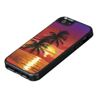 Palms at Sunset OtterBox iPhone SE Case