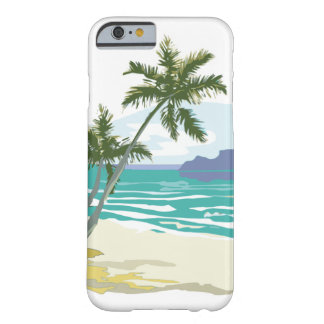 Palms, Ocean & Mountains Barely There iPhone 6 Case