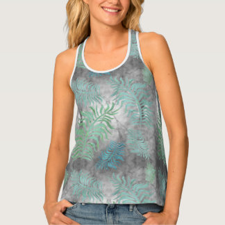 Palms R7 Women's All-Over Print Racerback Tank Top