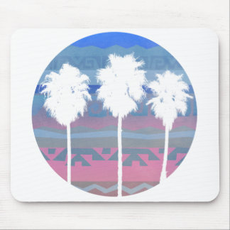 Palms Trees in Aztec Sunset Mouse Pad