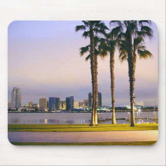 Palms Trees On Piers Mousepads