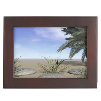 palms zen and steps keepsake box