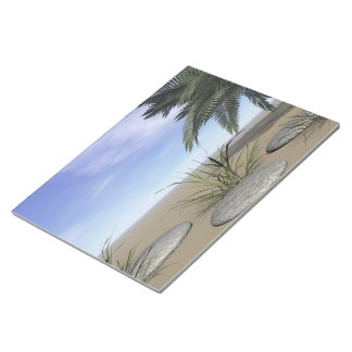 palms zen and steps notepad