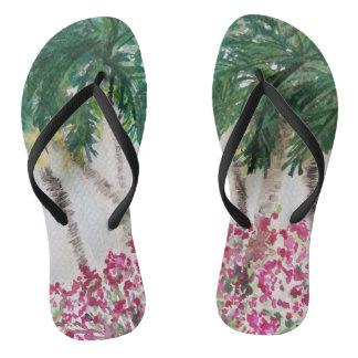 Palmtrees in Paradise Thongs
