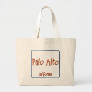 Palo Alto California BlueBox Jumbo Tote Bag