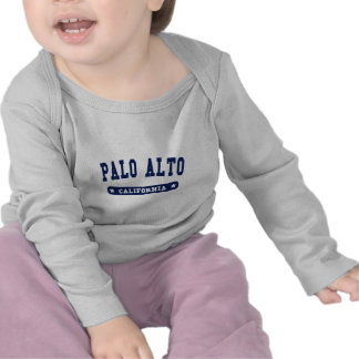 Palo Alto California College Style tee shirts