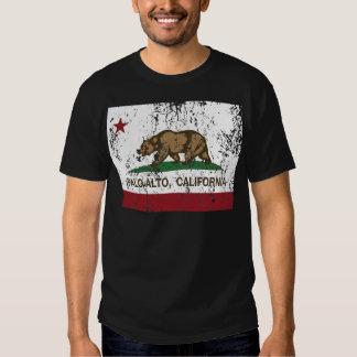 palo alto california state flag tshirts