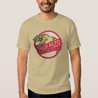 Palo Alto California vintage bear tshirt