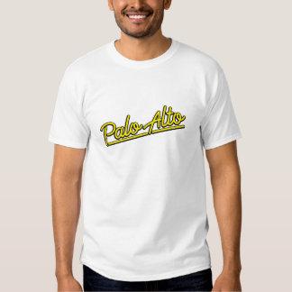 Palo Alto in yellow T-shirt