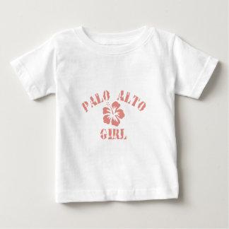 Palo Alto Pink Girl Tshirts