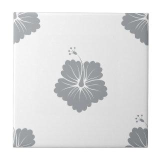 Paloma Flower Pattern 3 Ceramic Tile