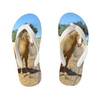 Palomino Horse Beauty, Kid's Thongs