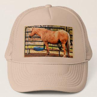 Palomino Horse Trucker Cap