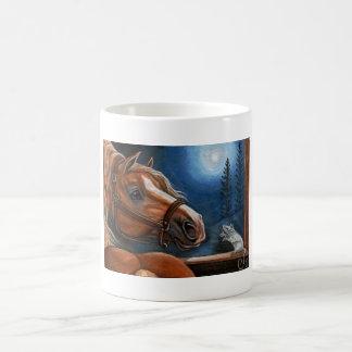 PALOMINO HORSE White Mouse Mug