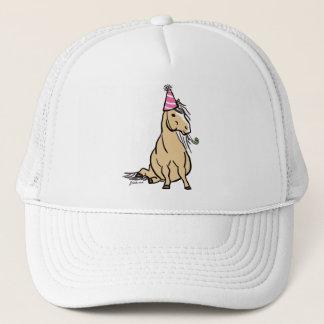 Palomino Party Pony Trucker Hat
