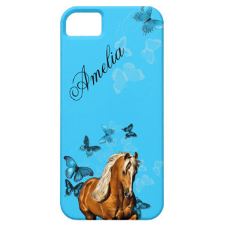 Palomino Pony Butterflies iPhone 5 Cases