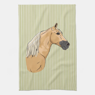 Palomino Tennessee Walking Horse 3 Tea Towel