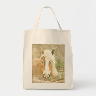 Palomino Work Horse Animals Grocery Tote