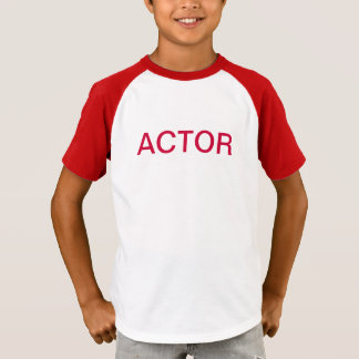 Palos Youth Theatre ACTOR shirt