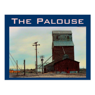 Palouse (Blue) Postcard