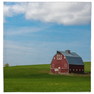 Palouse Country Barn - Eastern Washington Napkin