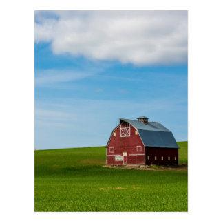 Palouse Country Barn - Eastern Washington Postcard