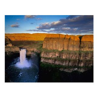 Palouse Falls in Washington Postcard