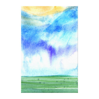 Palouse Morning 2 Canvas Print