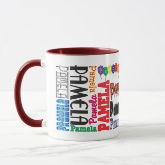 Pamela Coffee Mug