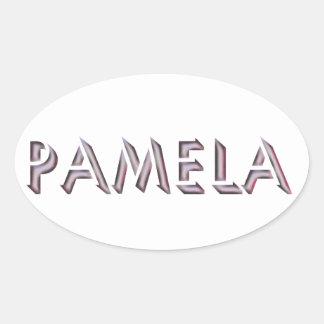 Pamela sticker name