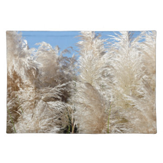 Pampas Grass with a Sunny Blue Sky Placemat