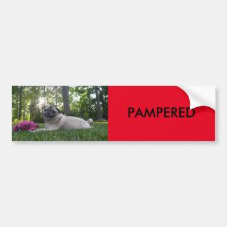 Pampered Bumper Sticker