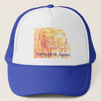 Pamplona Spain Trucker Hat