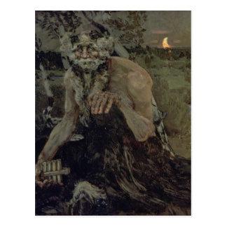 Pan, 1899 postcard