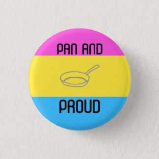 Pan and Proud 3 Cm Round Badge
