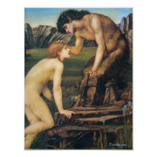 Pan and Psyche Poster
