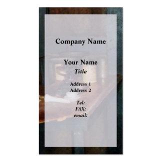 Pan Balance and Alum Business Card Templates