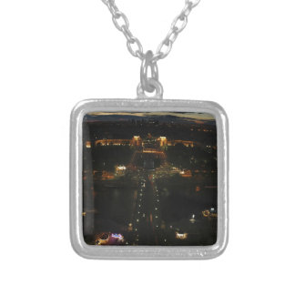 pan of paris silver plated necklace