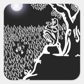 Pan Serenade Sticker