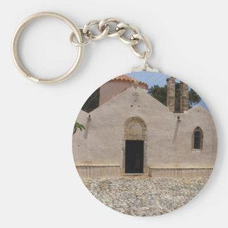 Panagia Kera Grameni, Meseleri  Byzantine church Basic Round Button Key Ring