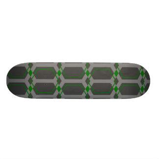 Panal (Green) Skateboard Deck