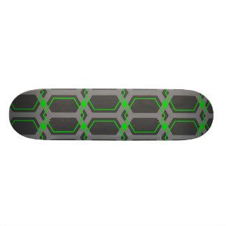Panal (Lime) Skateboard Deck