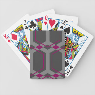 Panal (Red-Violet) Playing Cards
